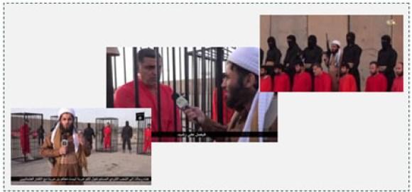 3 ISIS operative addressing the Kurdish people