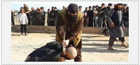 Beheading of a witch
