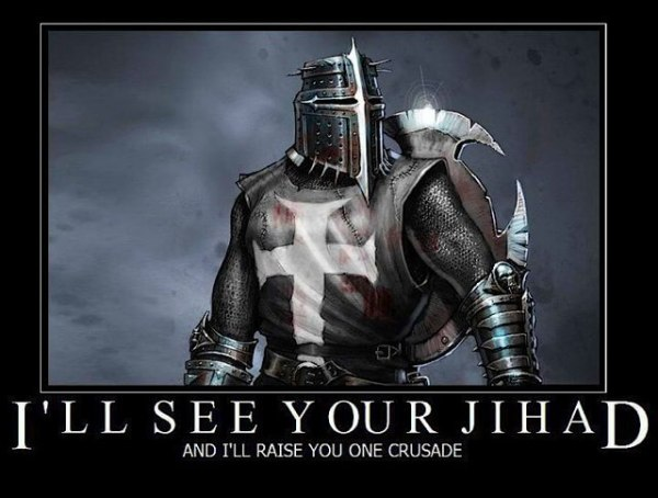 a jihad raise crusade