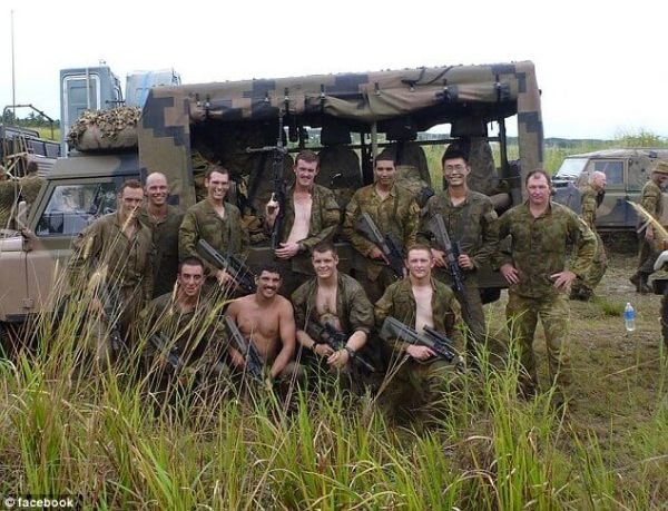 5 Ashley Johnston front second from right has been remembered by his friends as the best mate