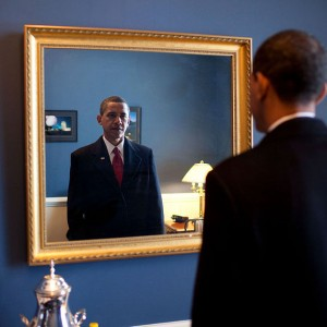 Barack-Obama-takes-one-last-look-in-the-mirror-before-going-out-to-take-the-oath-of-office-300x300