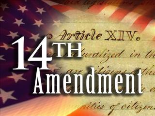 14thamendment