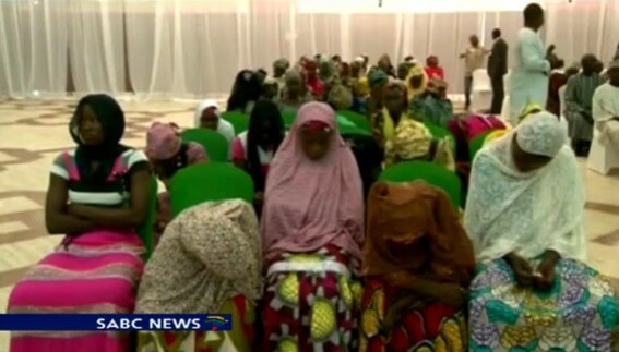 Nigerian girls rescued