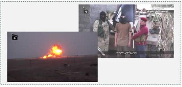 2  Detonation of the car bombs