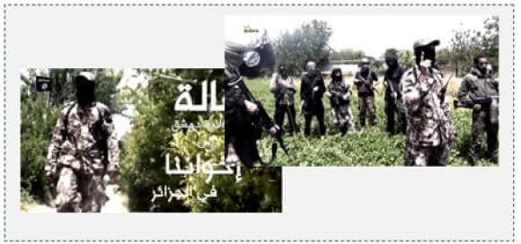 4 ISIS video addressing the brothers in Algeria