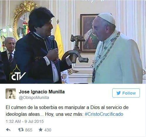 Pope Francis Jose Munilla