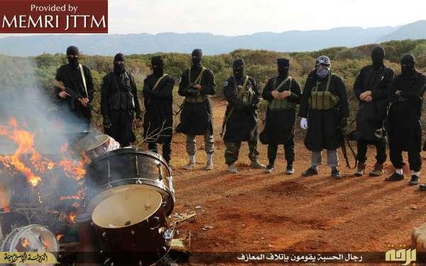ISIS religious police