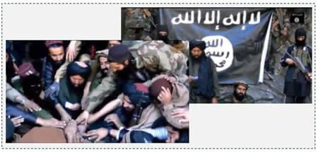 2 The Islamic Movement of Uzbekistan pledging allegiance