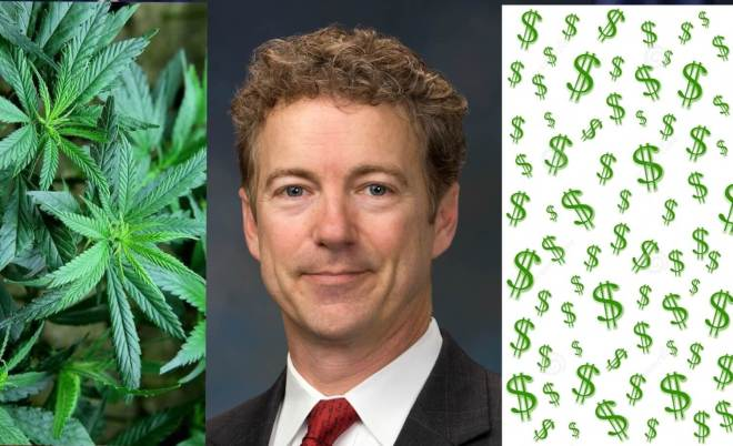 Right Side News Rand Paul Smoke A Dope Cash