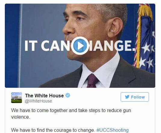 UCC Shooting President Obama