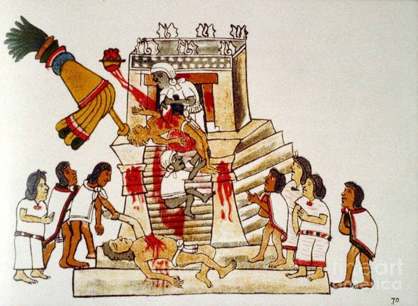 19 aztec-human-sacrifice-codex-photo-researchers