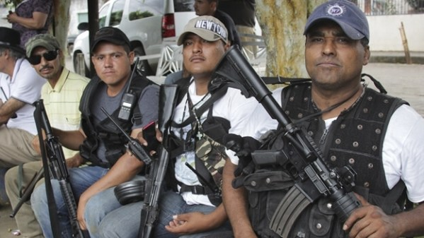 2 Autodefenas forces in Michoacan