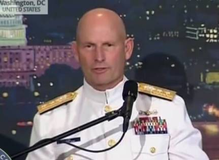 Rear Admiral Lee