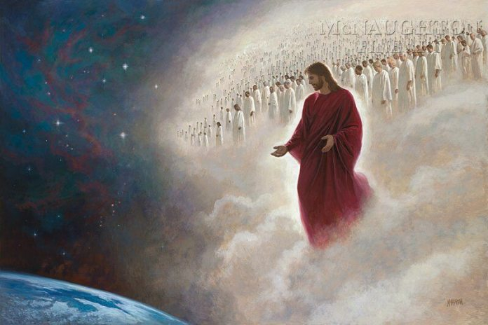 Parting the Veil (Second Coming) by Jon McNaughton