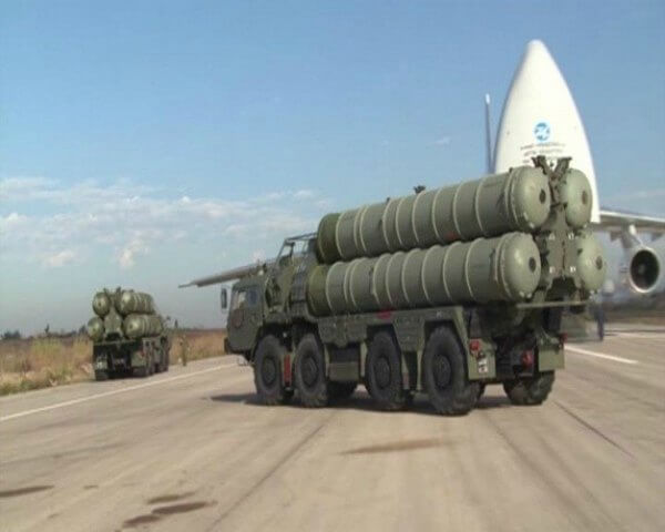 S-400 air defense systems 600