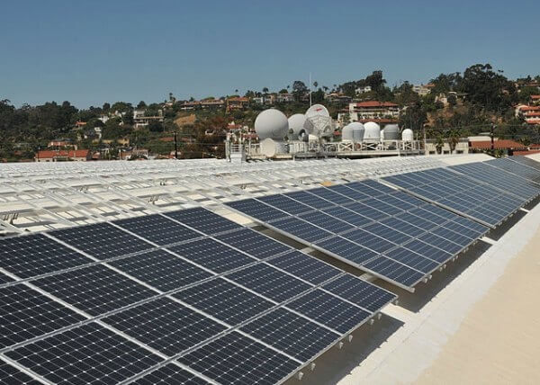 DOD solar panels