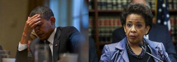 Barrack Obama and Loretta Lynch
