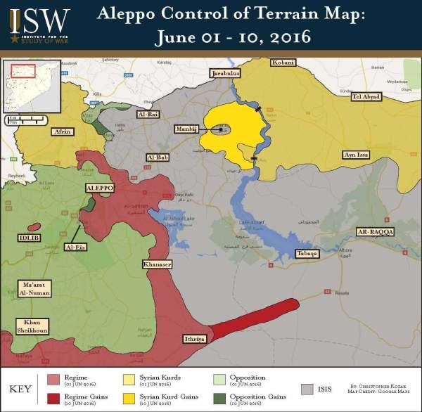 Aleppo - Raqqa Graphic 09 JUN