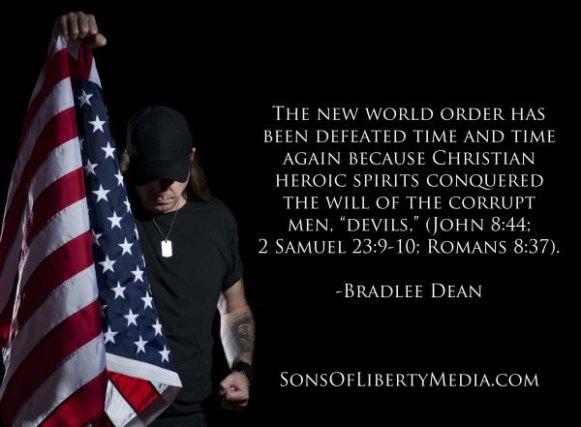 New World Order Bradlee Dean