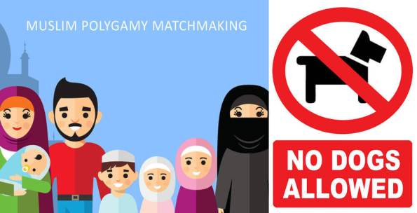 No Dogs Allowed Muslim