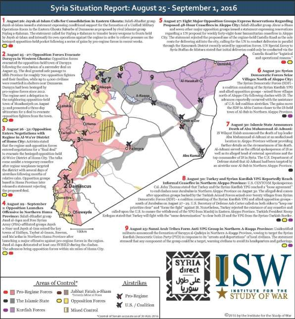 September1 SYRIA SITUATION REPORT