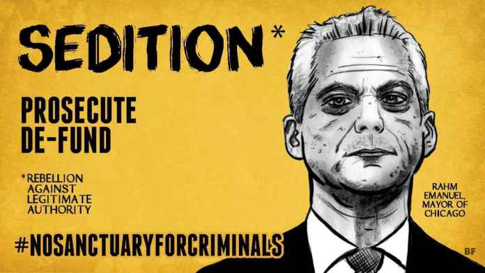 Sedition Sanctuary Cities
