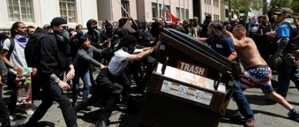 Antifa vs Patriots