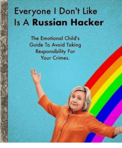Hillary Clinton Blames Russia for PizzaGate