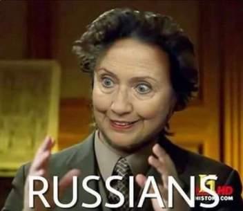 Russians Clinton history channel meme