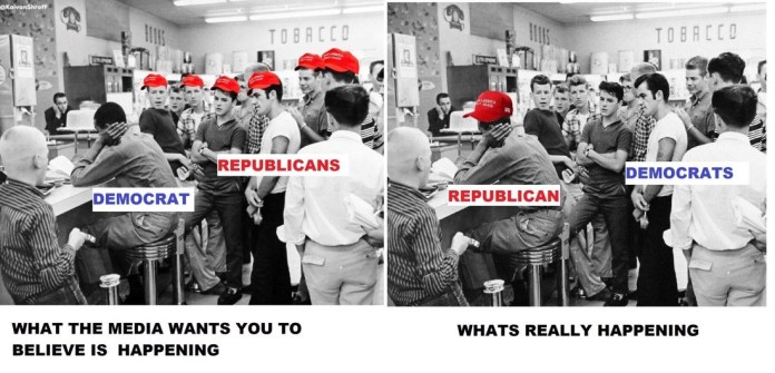 Trump Supporters vs Reality
