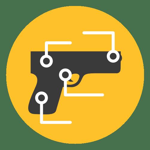 handgun anatomy graphic