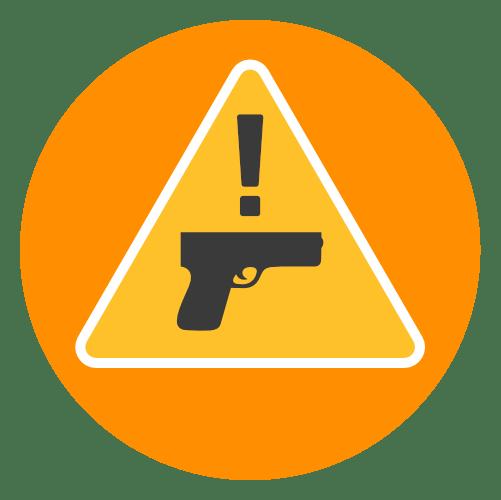 handgun safety graphic