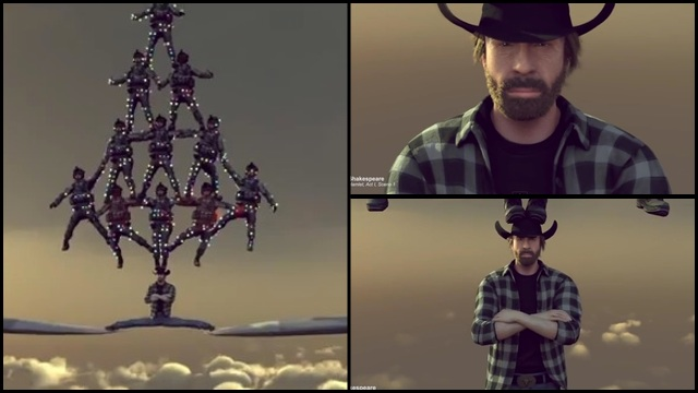 Don't You Know By Now Chuck Norris Can Do It Better?