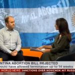 Peter D. Williams Discusses Defeat of Abortion in Argentina on BBC World News