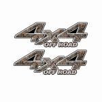 4x4 Truck Decals 35