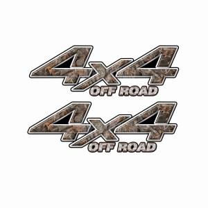 4x4 Truck Decals 14
