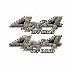 4x4 Truck Decals 6