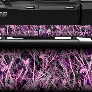 Tallgrass Pink Camo Rocker Panel Wrap