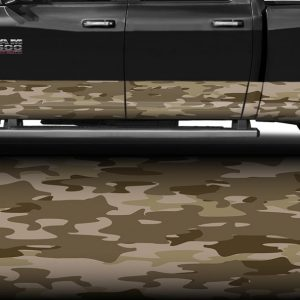 Traditional Desert Camo Rocker Panel Wrap