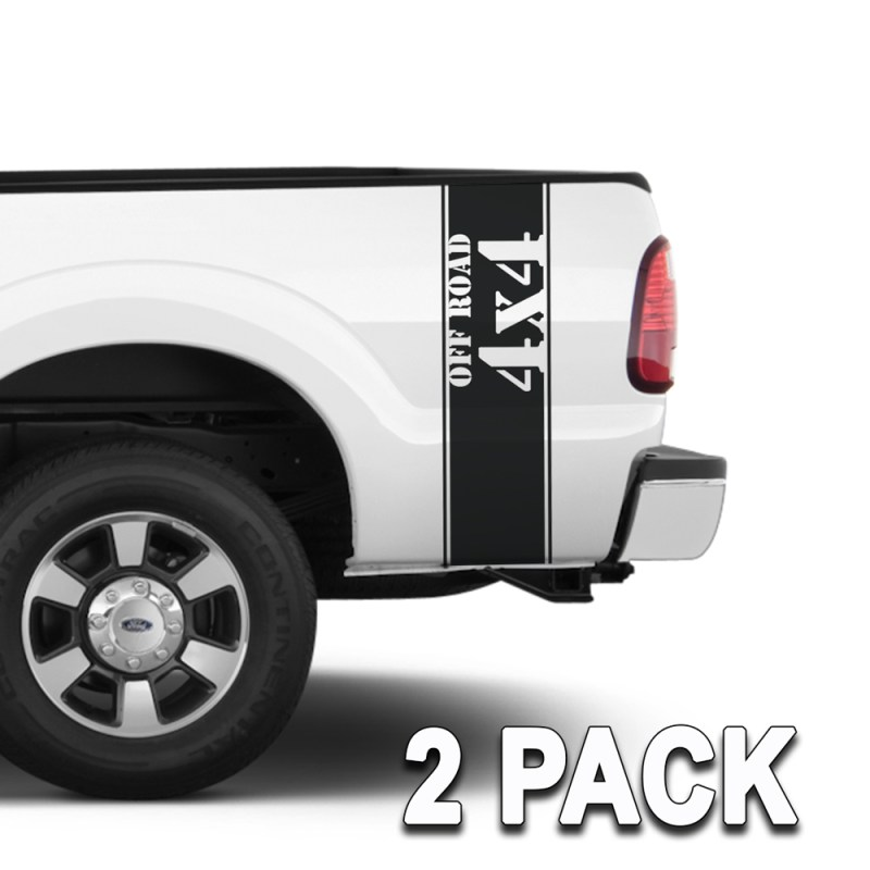 Truck Band 4x4 off Road Decals Stickers Graphics