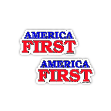 AMERICA FIRST Sticker