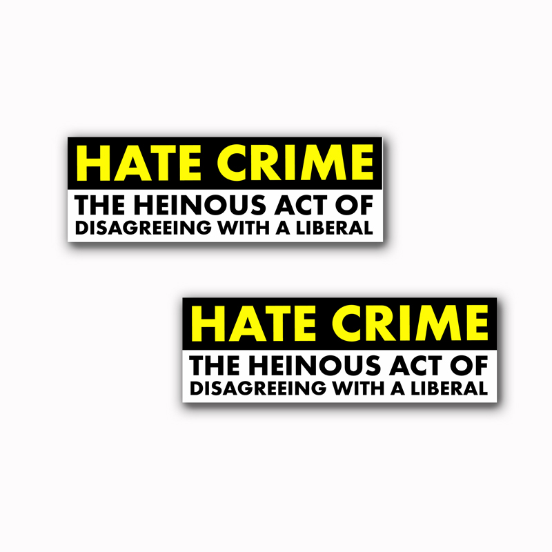 Hate Crime Stickers