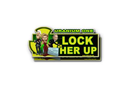 Lock Her Up Anti Hillary Sticker