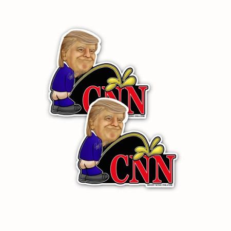 Trump Peeing on CNN