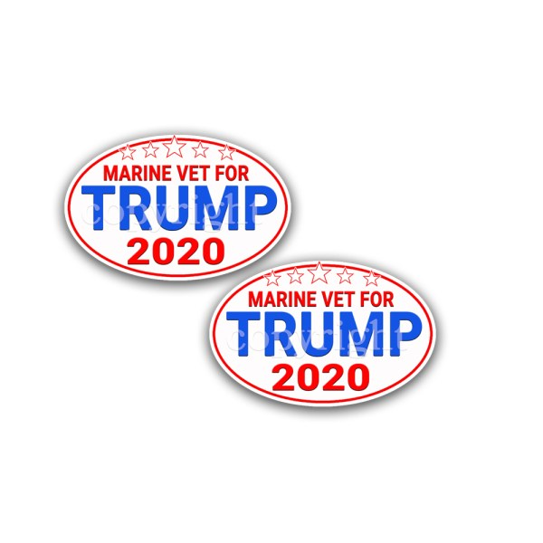 TRUMP 2024 Stickers 2 Pack 5