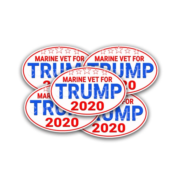 TRUMP 2020 Stickers 2 Pack 4