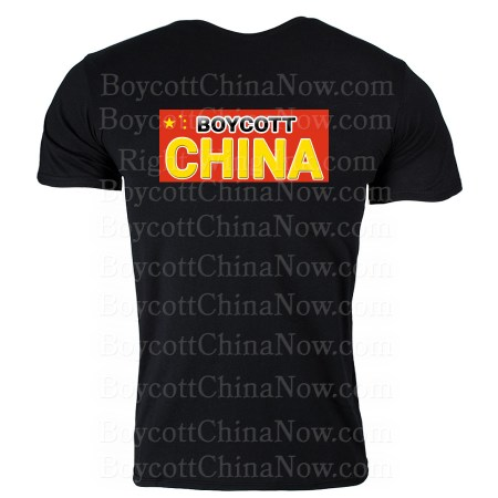 Boycott China Stickers