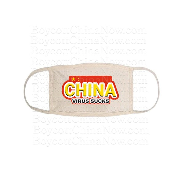 China Virus Sucks Face Mask 1 Wt