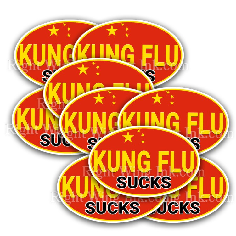 Kung Flu Stickers 10 Pack
