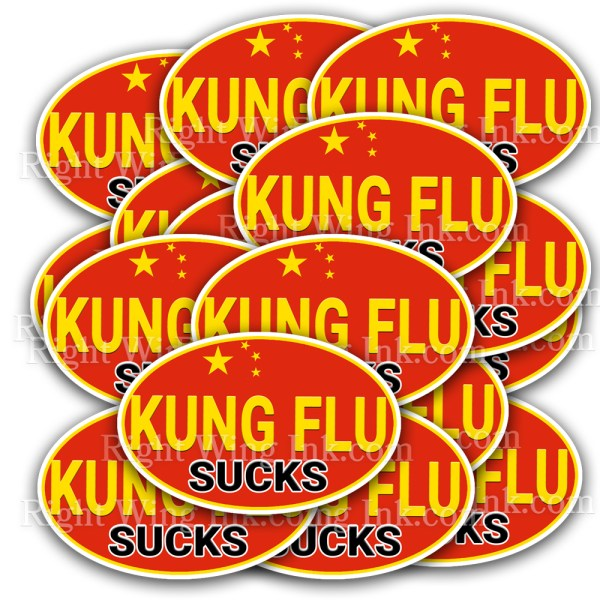 Kung Flu Stickers 5 Pack 2